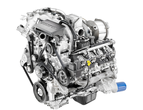 Duramax 6.6-liter Turbo-Diesel V8 engine