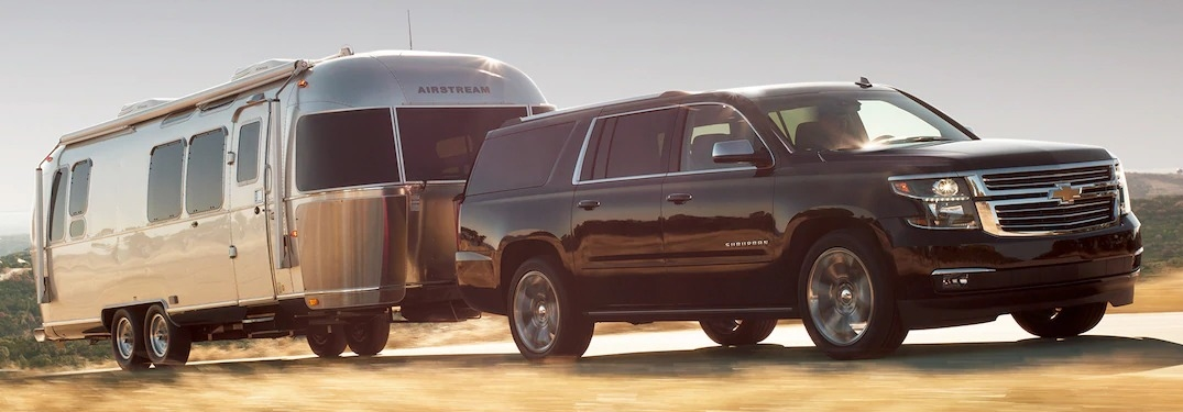How much can the new Suburban tow?