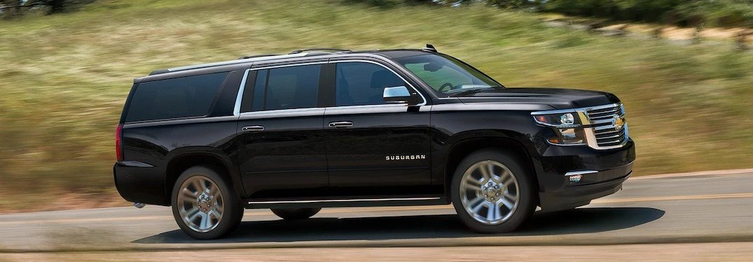 What do you get with the Suburban Premier trim?