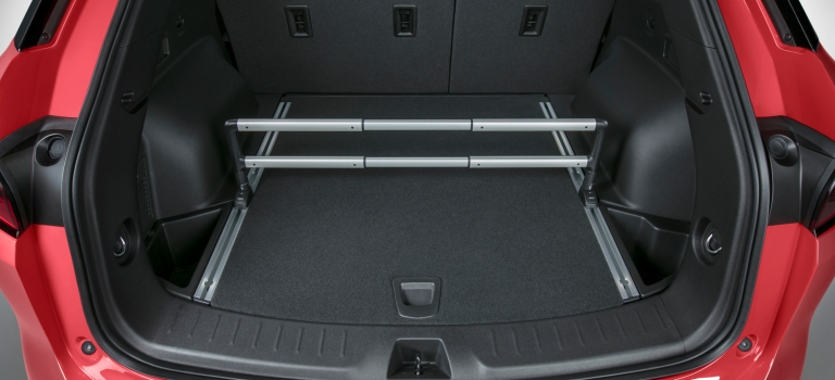 2019 Chevy Blazer rear cargo area