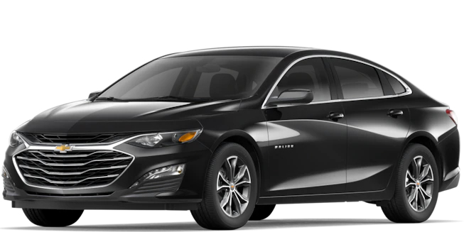 2019 Chevy Malibu Mosaic Black Metallic side view