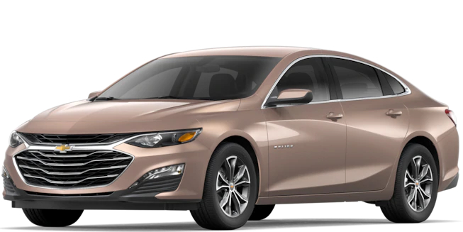 2019 Chevy Malibu Sandy Ridge Metallic side view