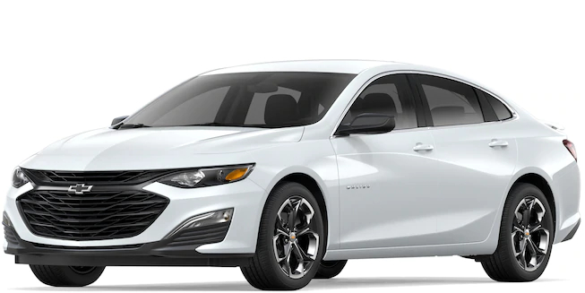 2019 Chevy </p> <h3>Malibu Summit White side view