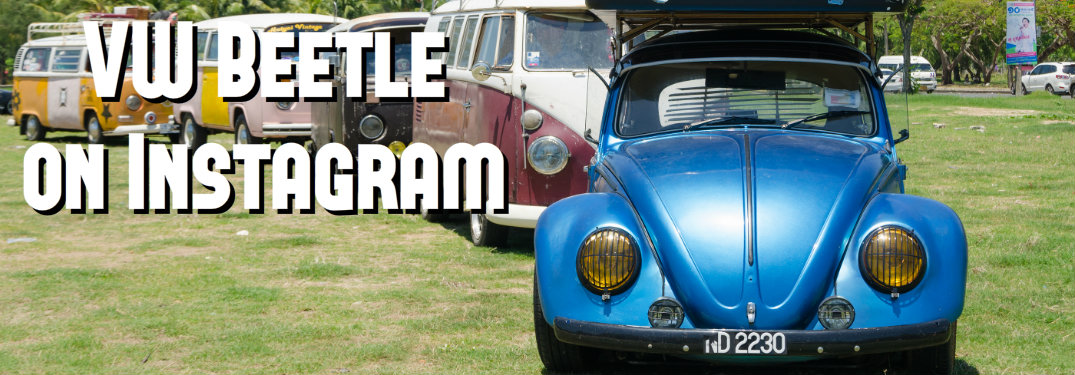 Top Five Instagram photos of the classic VW Beetle