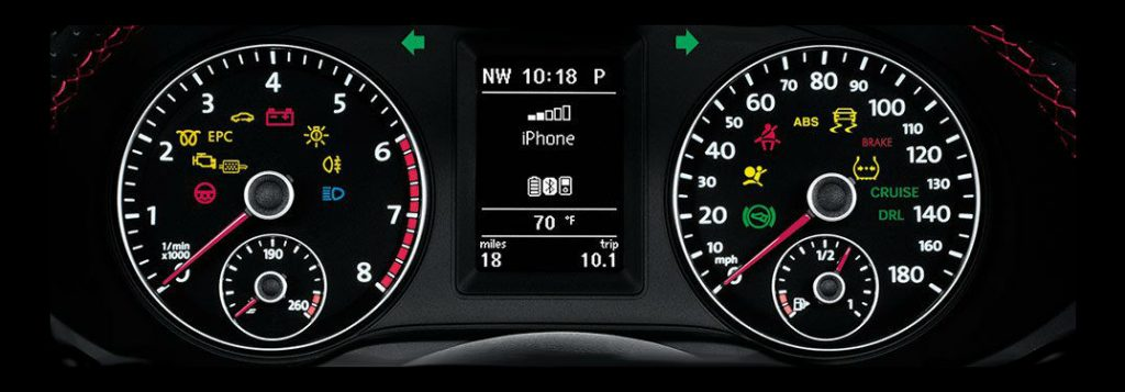 List Of Volkswagen Dashboard Warning Lights And Symbols