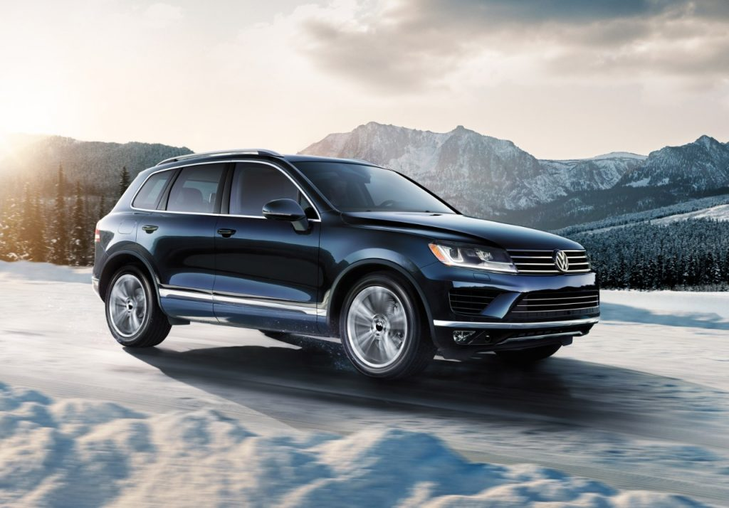 Safety Features 2018 VW Touareg Serving Chicago