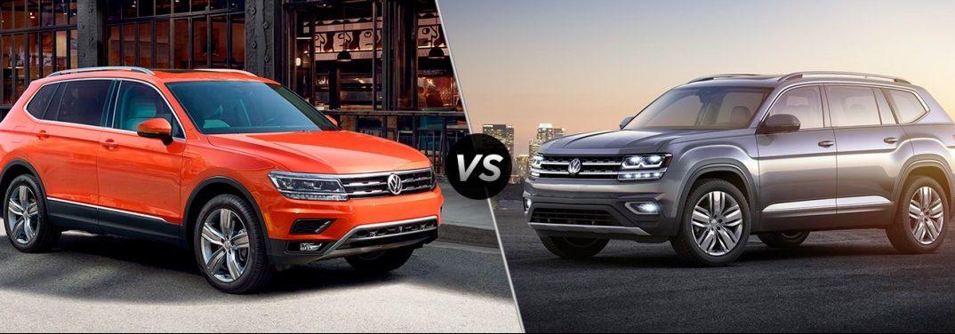 2018 Volkswagen Tiguan vs 2018 Volkswagen Atlas