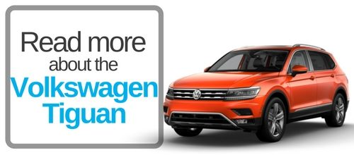 button that says read more about the volkswagen tiguan
