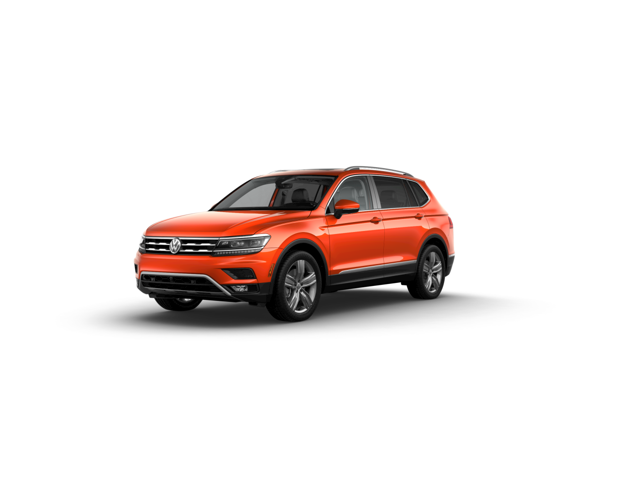What colors does the new 2019 VW Tiguan come in?