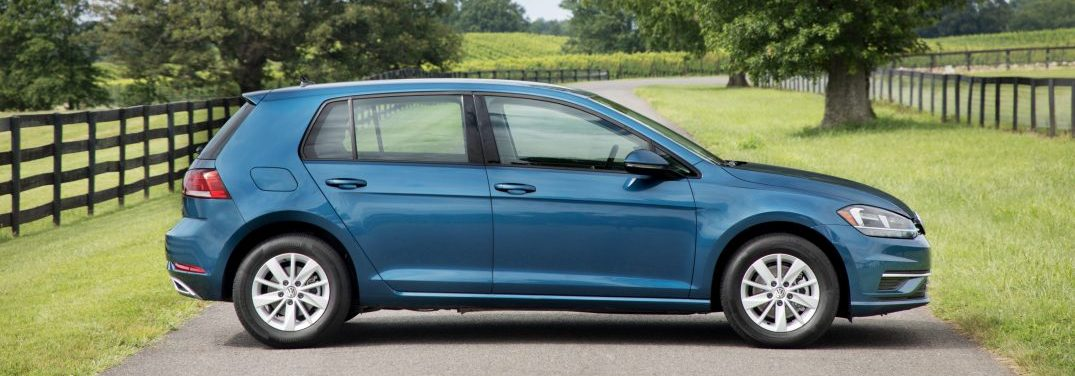 profile view of the 2019 Golf