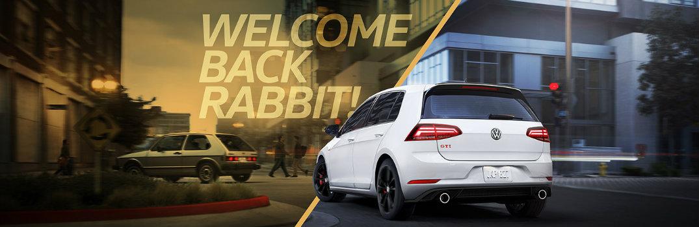2019 VW Golf GTI Rabbit banner