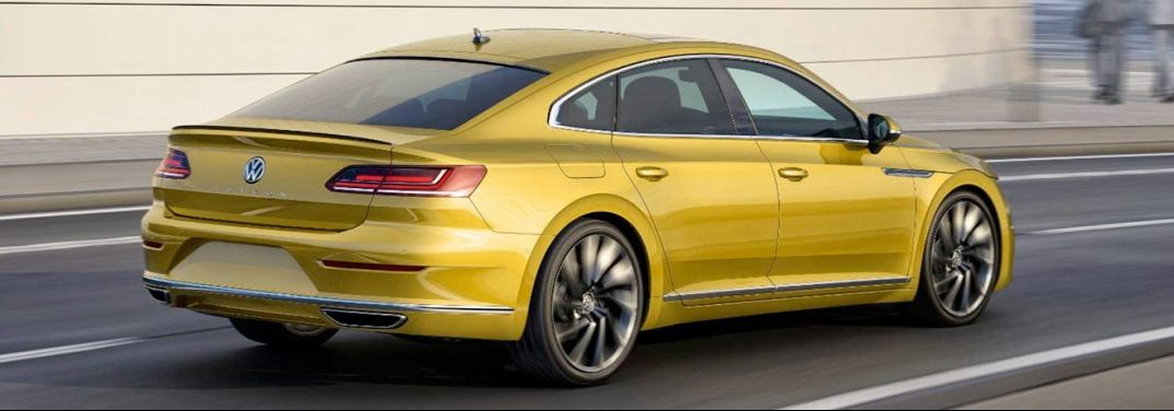 exerior rear of the 2019 VW Arteon