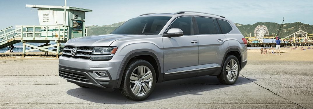 exterior view of the 2019 VW Atlas