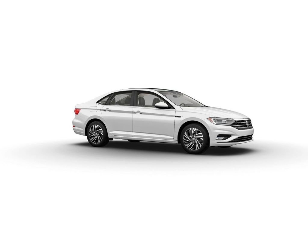Pure White 2020 Volkswagen Jetta