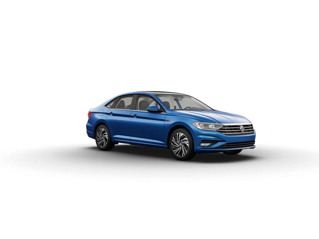 Silk Blue Metallic 2020 Volkswagen Jetta