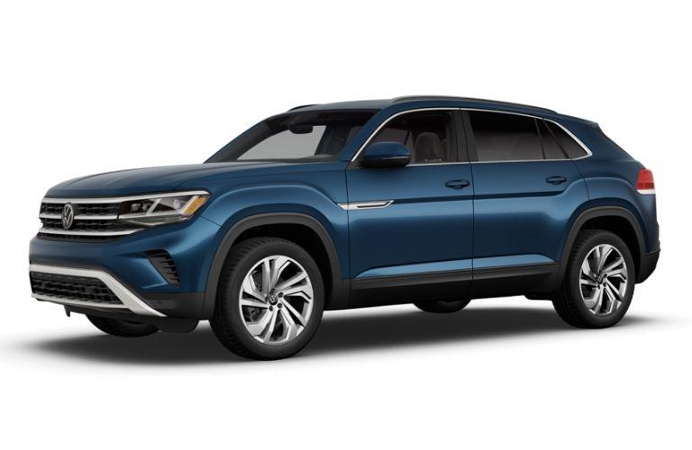 Tourmaline Blue Metallic 2020 Volkswagen Atlas Cross Sport