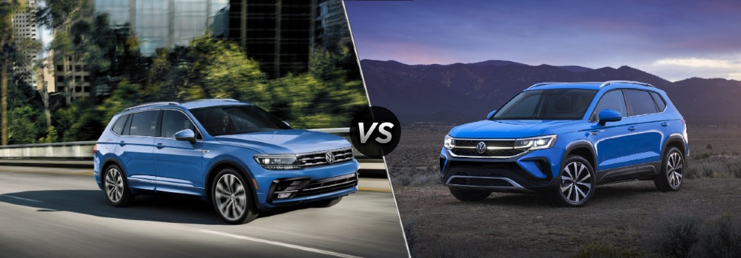 How will the Taos be different from the Tiguan?