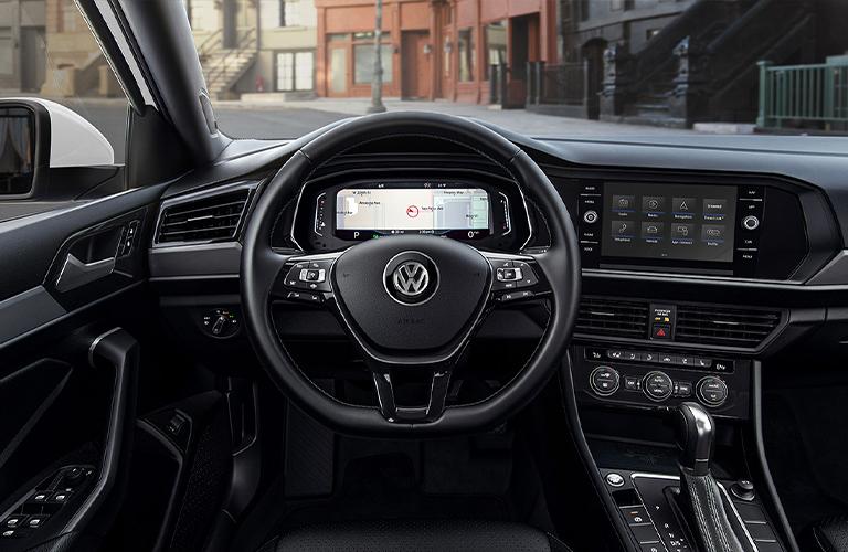 Interior driver control center inside 2021 Volkswagen Jetta