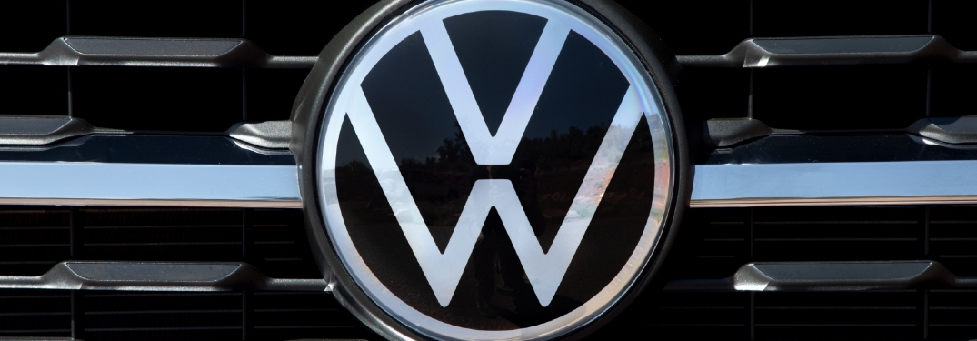 Did Volkswagen recently change its logo?