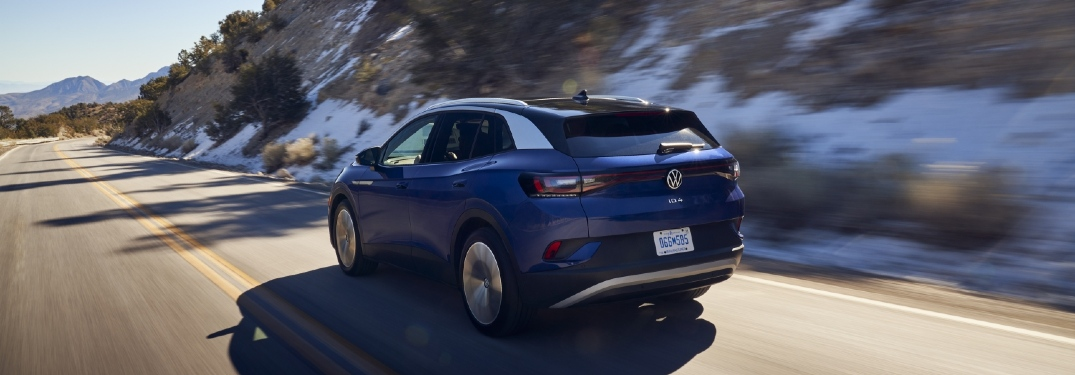 How much range does each trim of the 2021 Volkswagen ID.4 have?