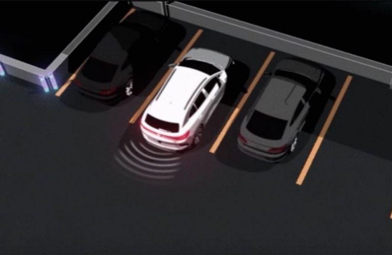 Volkswagen IQ.DRIVE Rear Traffic Alert