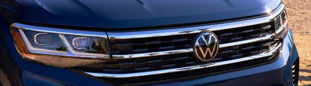 2021 Volkswagen Atlas front-end close-up