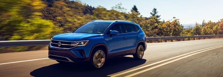 Gallery of 2022 Volkswagen Taos Exterior Color Options