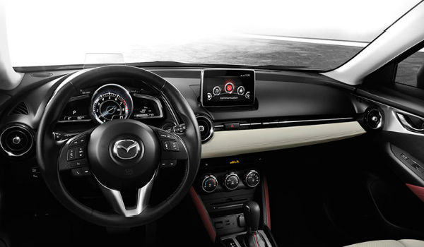 2017 mazda cx 3 interior features and options hickory mazda. Black Bedroom Furniture Sets. Home Design Ideas