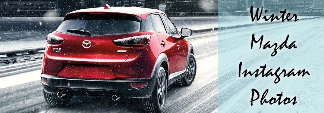 Winter Mazda Instagram Photos