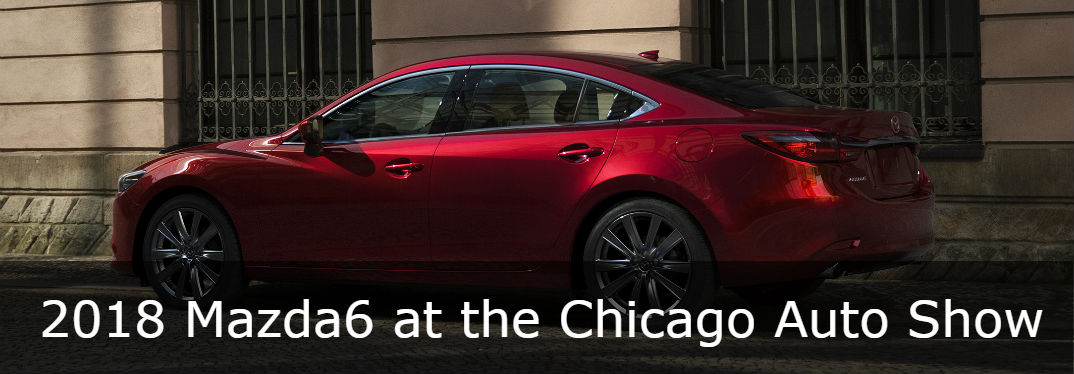 The 2018 Mazda6 was a popular display at CAS 2018