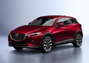 2019 Mazda CX-3 front angle view