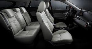 2019 Mazda CX-3 profile view of seats