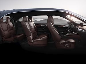 2019 Mazda CX-9 profile view of seating