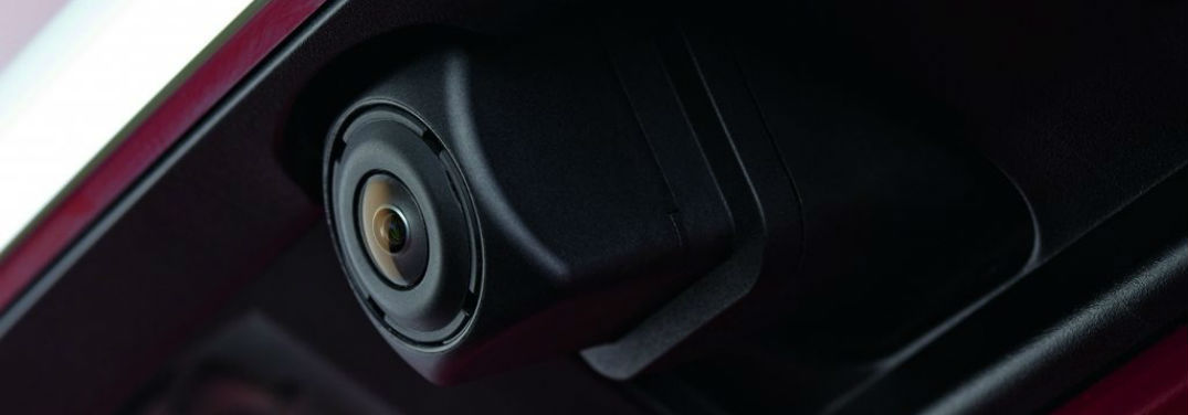 How To Use the Mazda 360-Degree View Monitor with image of one of the system's cameras