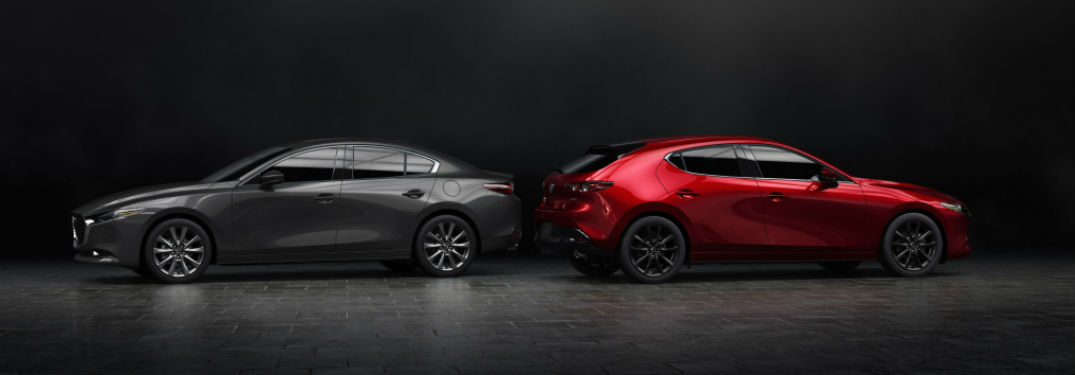 The all-new Mazda3 is revealed at the 2018 Los Angeles Auto Show