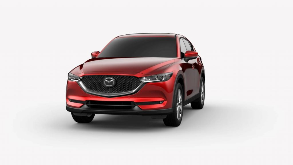2019 Mazda CX-5 in Soul Red Crystal Metallic