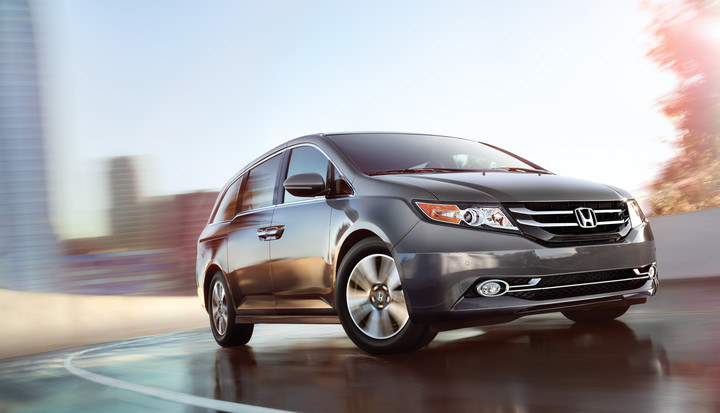 Honda Odyssey Named Most Loved Minivan by Strategic Vision
