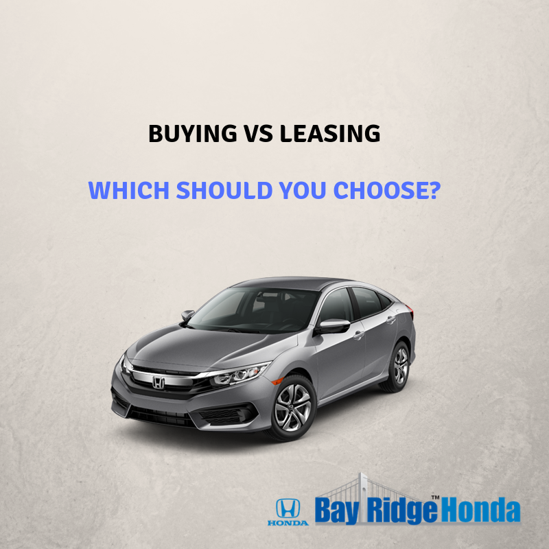Should I Lease or Buy My Honda?