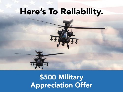 $500 Military Appreciation Offer from Bay Ridge Honda