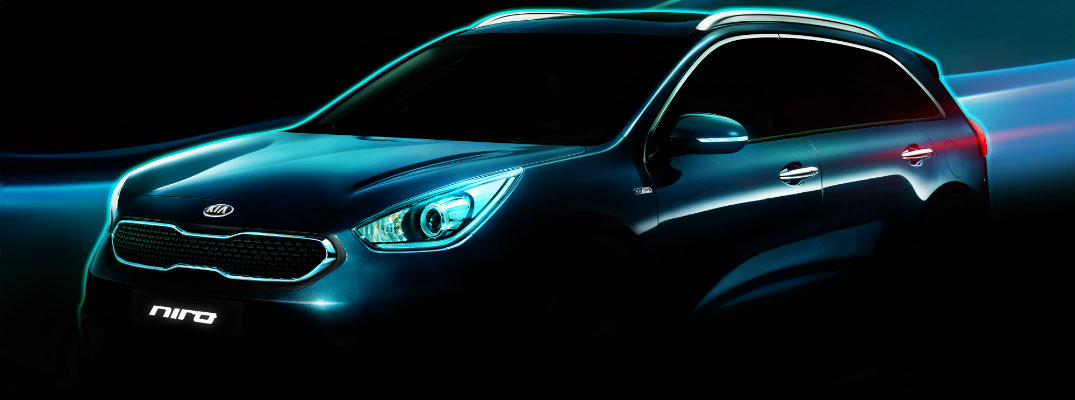 Kia to Debut New Hybrid Utility Vehicle at Chicago Show in February