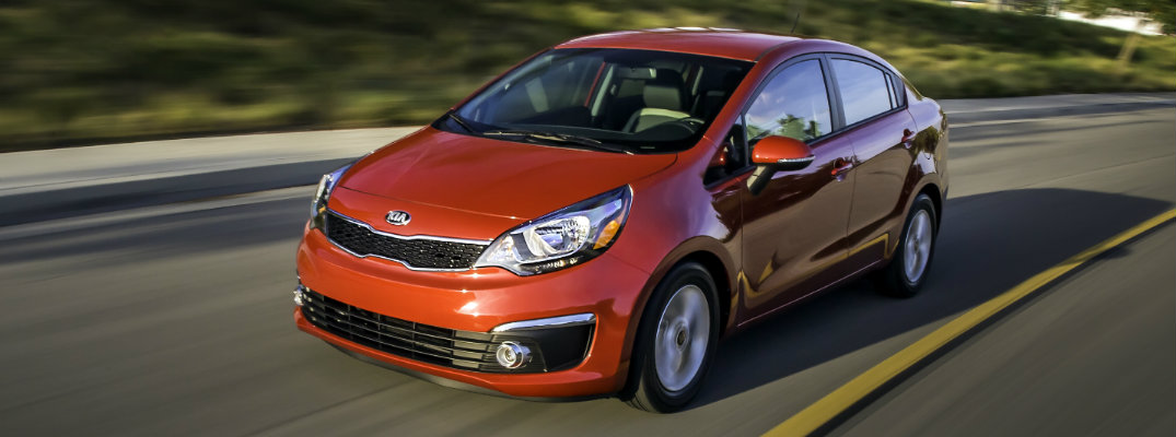 2017 Kia Rio Changes and Upgrades