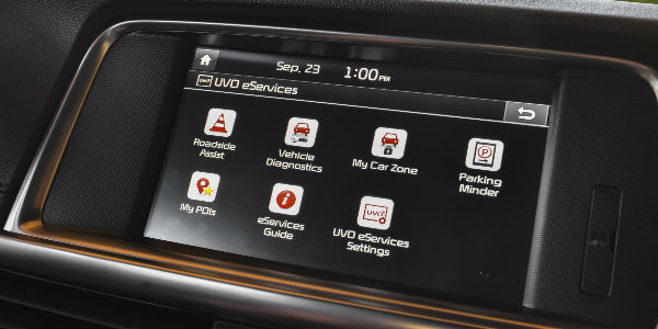 2018 Kia Optima 7-Inch Kia UVO Touchscreen Display