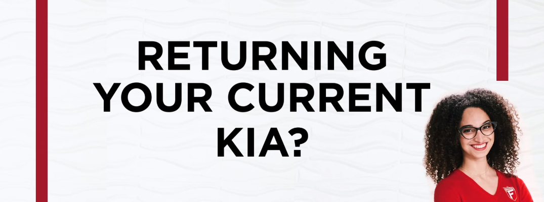 What do I need to do when my Kia lease ends?