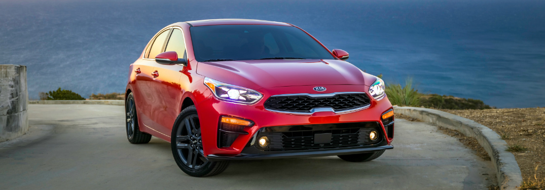 What safety features does the 2019 Kia Forte EX offer?