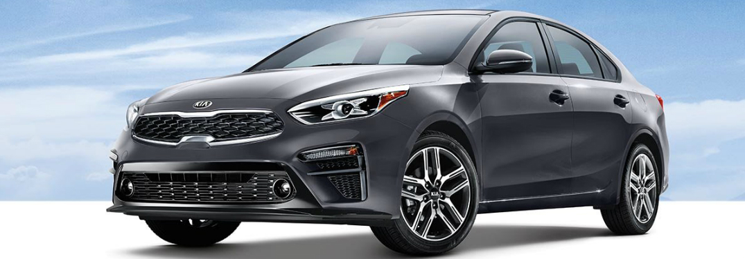 Front view of grey 2019 Kia Forte