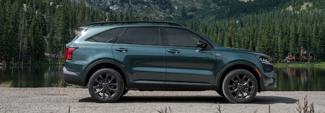 What features are in the 2021 Kia Sorento SX Prestige X-Line?