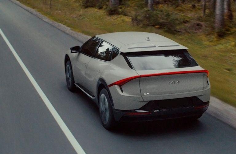 2022 Kia EV6 exterior rear fascia driver side