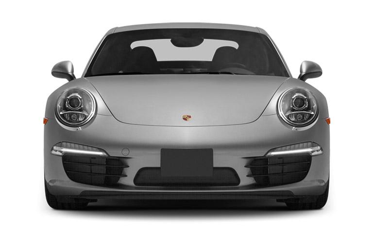 White 2014 Porsche Cayenne sitting with a white background
