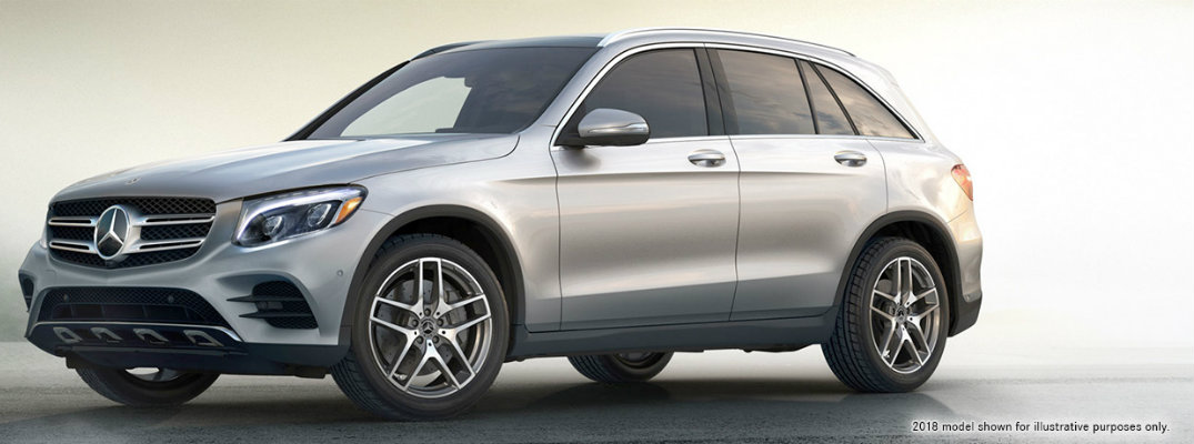 Profile view of 2019 Mercedes-Benz GLC SUV