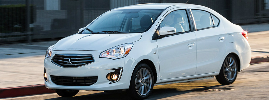 2018 Mitsubishi Mirage G4 specs and features